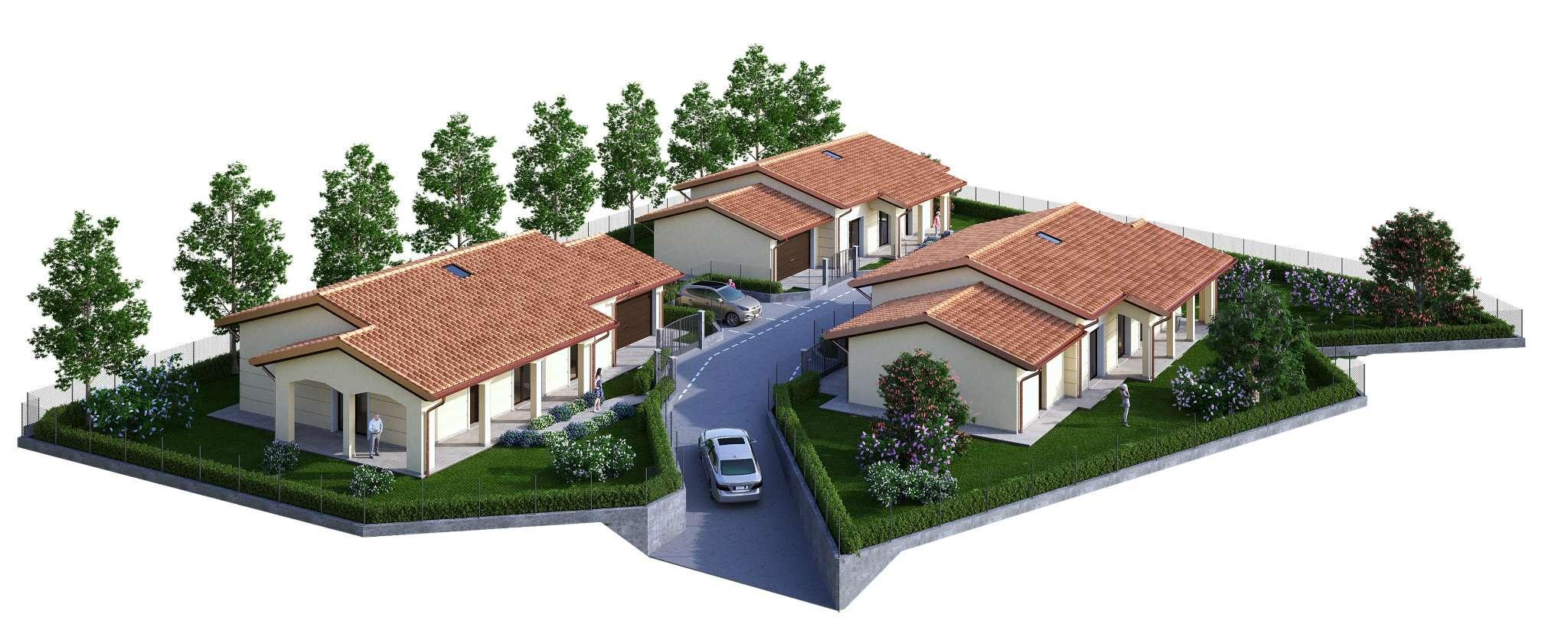 Villa quadrilocale in vendita a Rogeno (LC)
