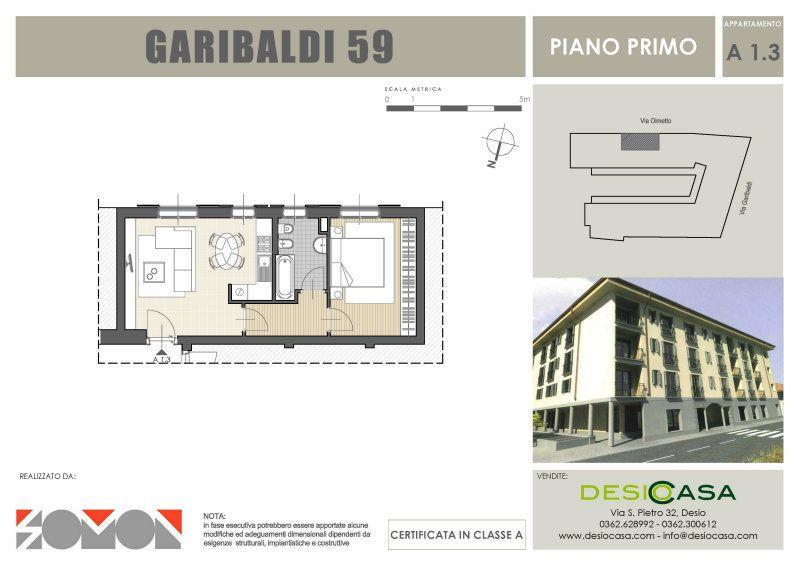 Vendita  bilocale Desio Via San Pietro 1 645543