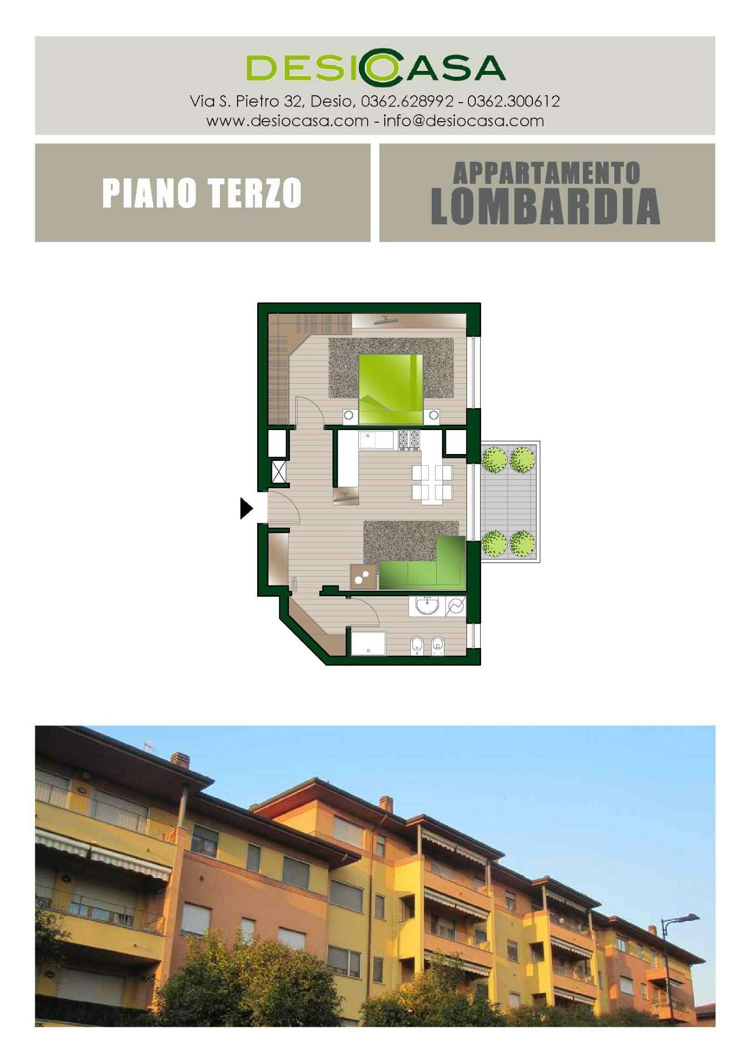 Vendita  bilocale Desio Via Lombardia 1 856220