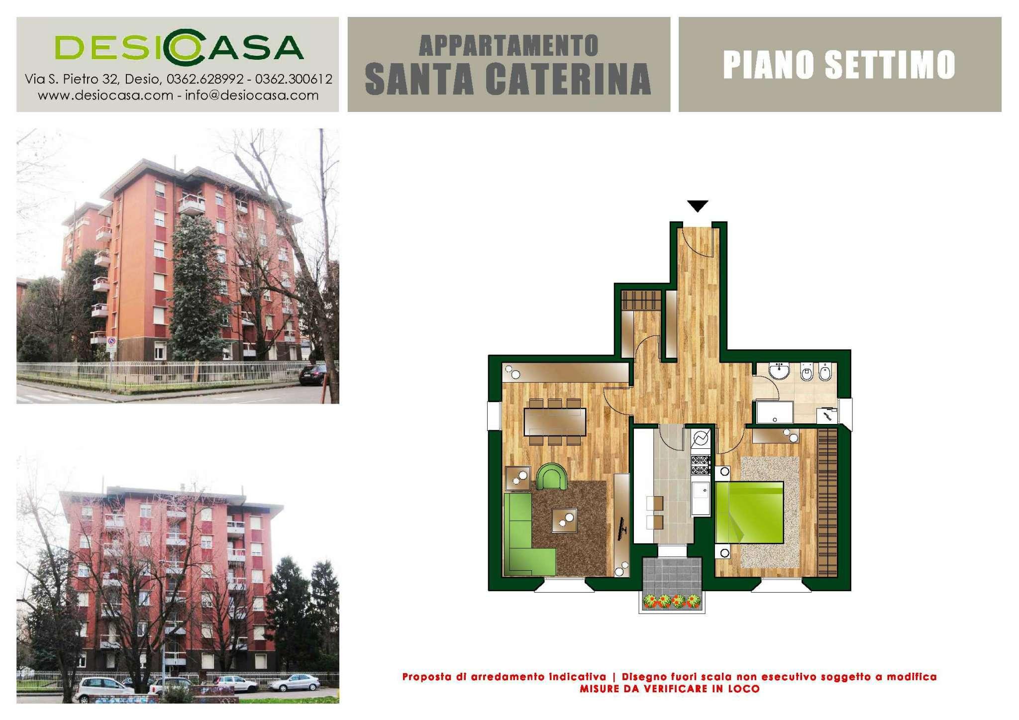 Vendita  bilocale Desio Via S. Caterina 1 909198