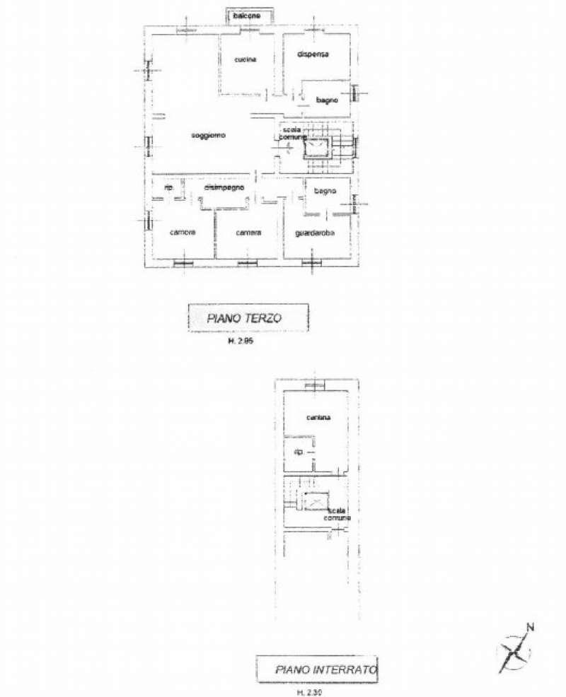 Palazzo / Stabile in vendita a Bergamo, 13 locali, prezzo € 990.000   CambioCasa.it