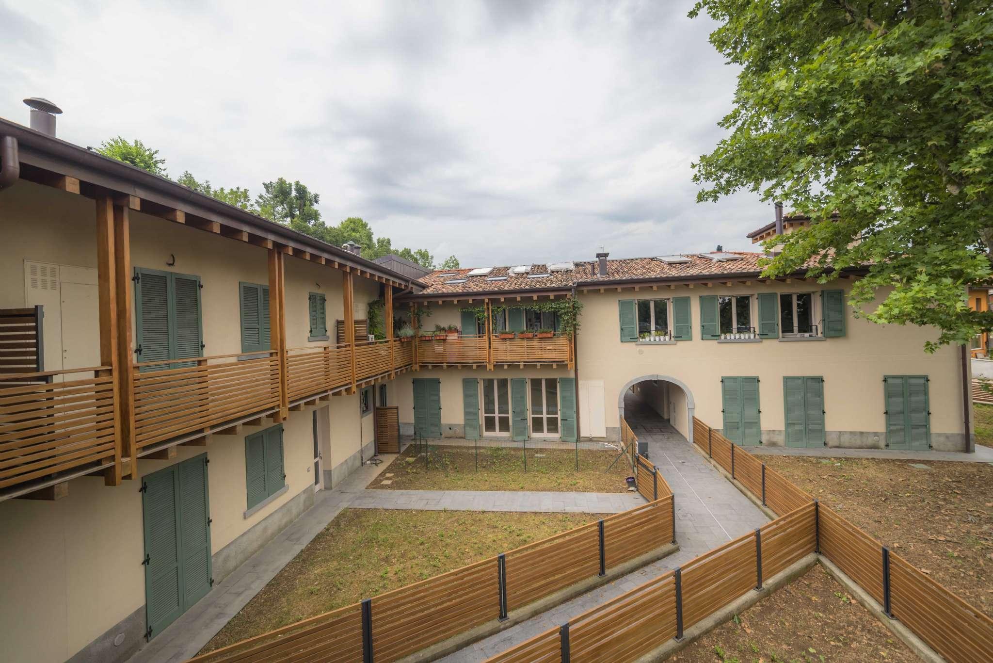 Villa Affiancata - Schiera, trento, Vendita - Gorle (BG)