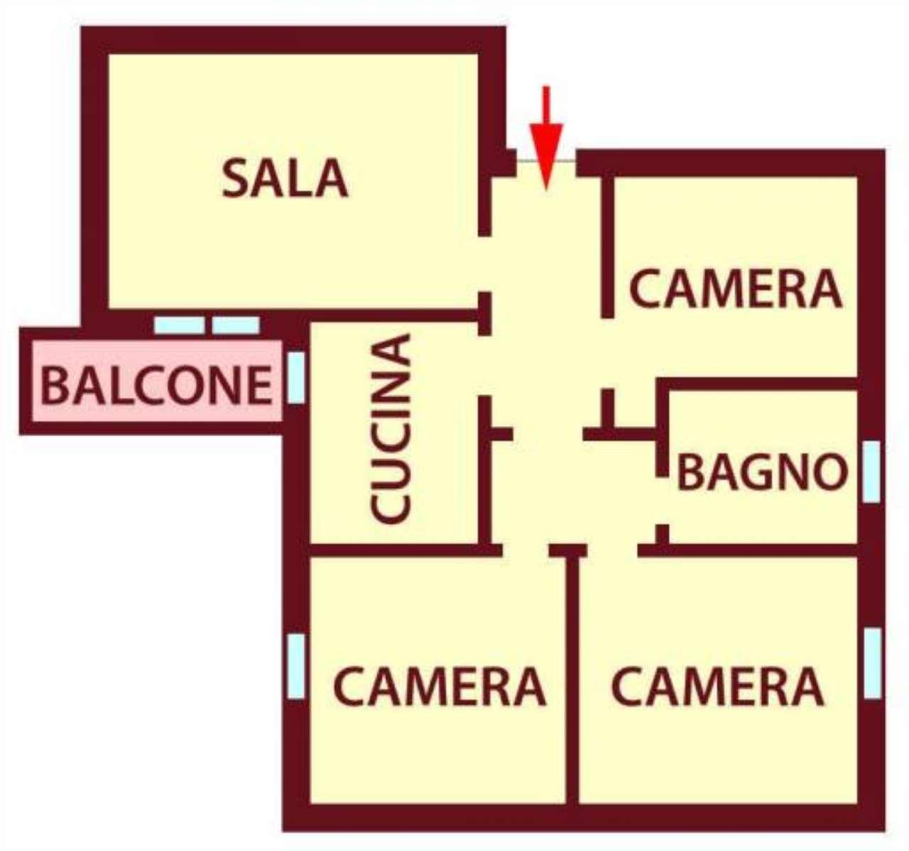 Appartamento in affitto a Castenaso, 5 locali, prezzo € 575   Cambio Casa.it