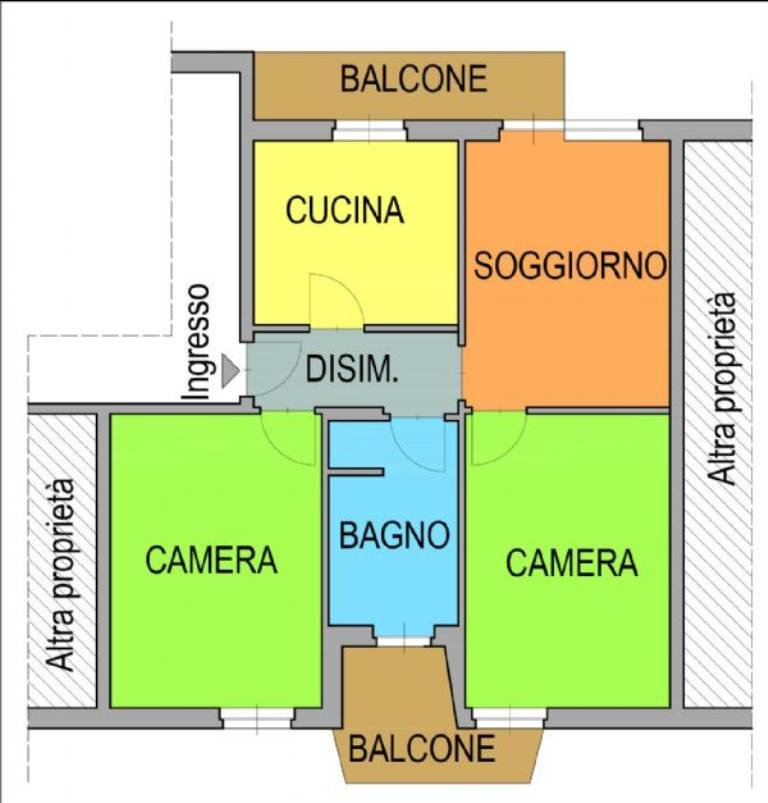Vendita  bilocale Riva presso Chieri Via San Domenico Savio 1 910629