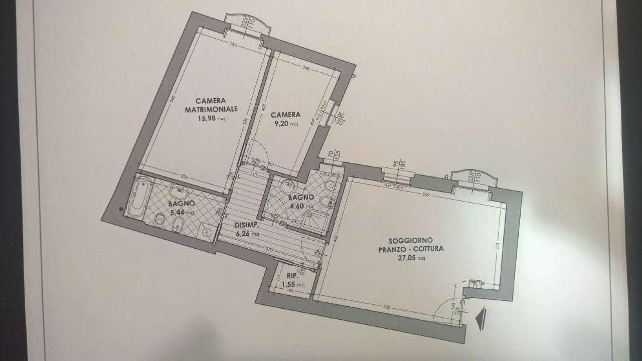 Appartamento in affitto a Abbiategrasso, 3 locali, prezzo € 750 | CambioCasa.it
