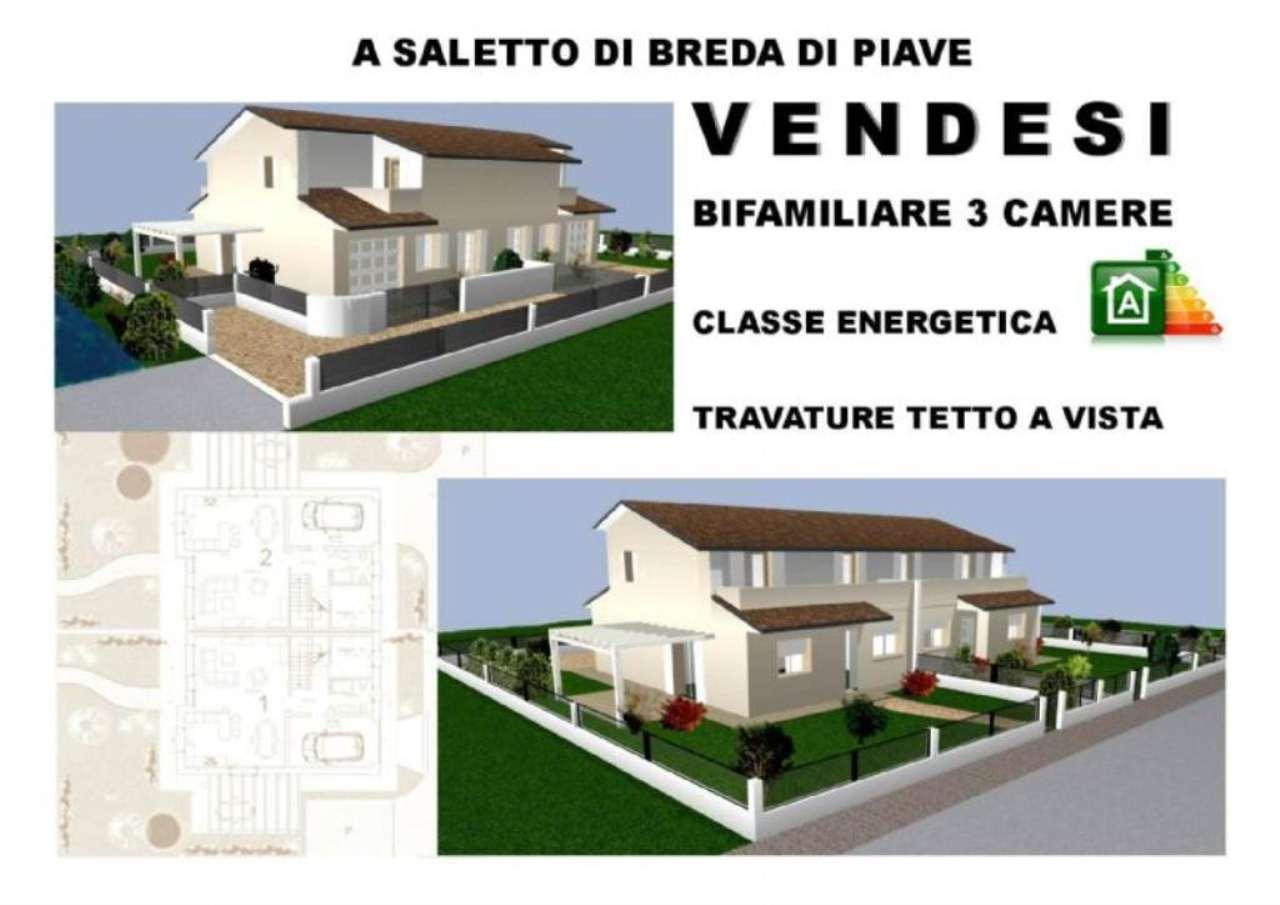 Soluzione Semindipendente in vendita a Breda di Piave, 5 locali, prezzo € 240.000 | Cambio Casa.it