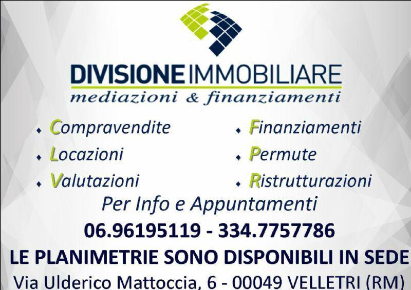 Vendita  bilocale Velletri Piazza Trento E Trieste 1 287512