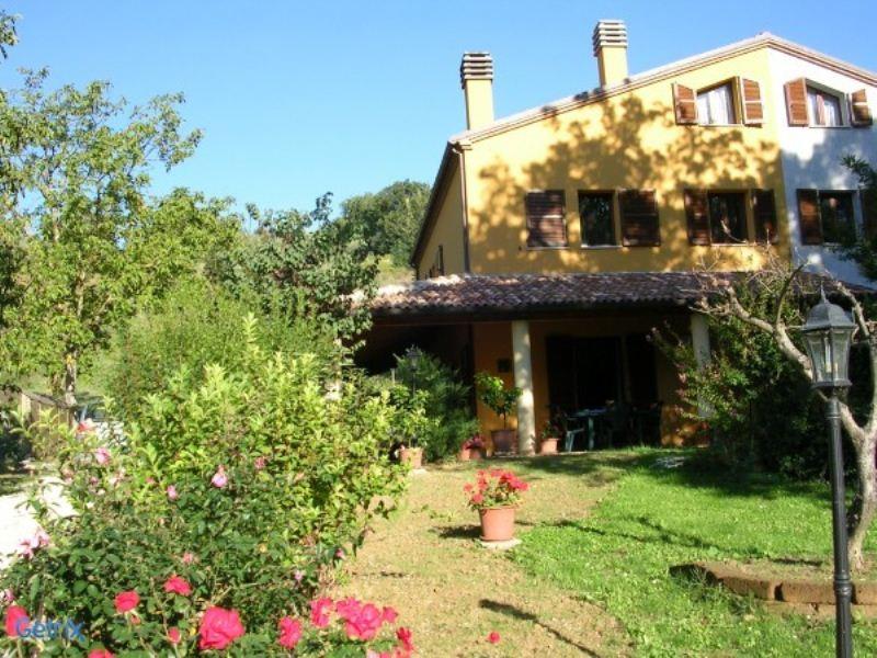 Soluzione Semindipendente in vendita a Monteciccardo, 9 locali, prezzo € 460.000 | Cambio Casa.it