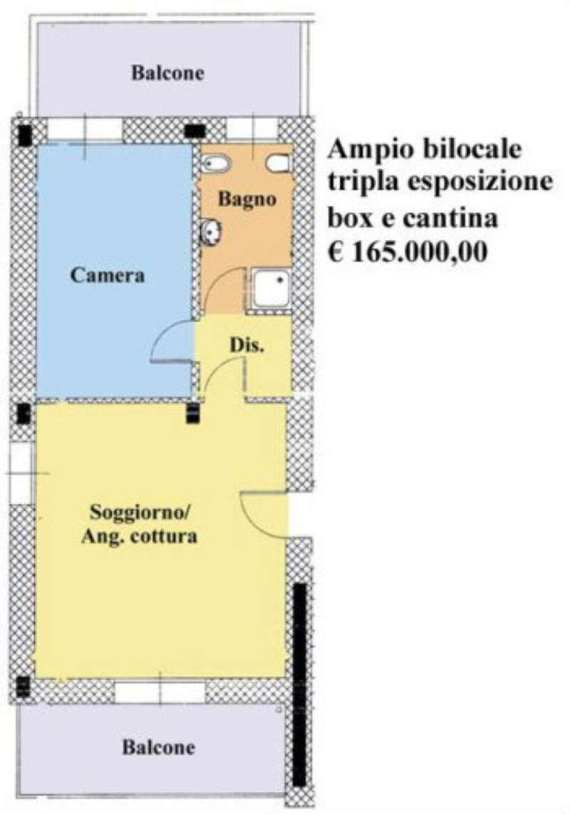 Bilocale Paderno Dugnano Via Guido D'arezzo 4
