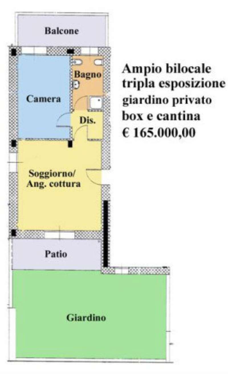 Bilocale Paderno Dugnano Via Guido D'arezzo 2