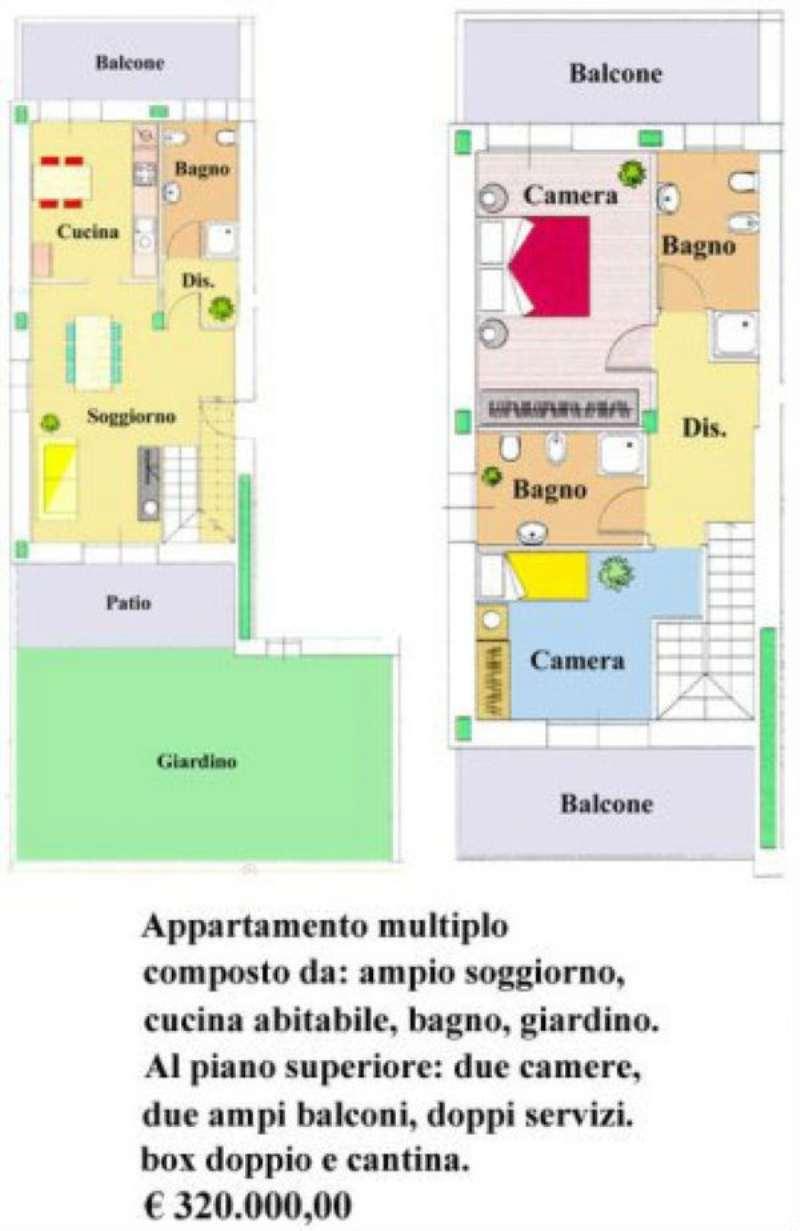 Bilocale Paderno Dugnano Via Guido D'arezzo 6