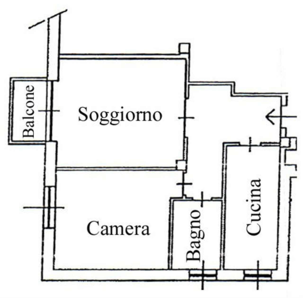 Vendita  bilocale Paderno Dugnano Via Cardinal Riboldi 1 1433055