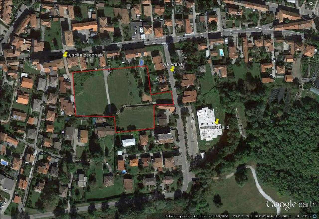 Terreno Edificabile Residenziale in vendita a Angera, 1 locali, prezzo € 30.000 | Cambio Casa.it