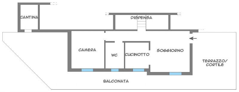 Vendita  bilocale Moneglia Località Camposoprano 1 1064728