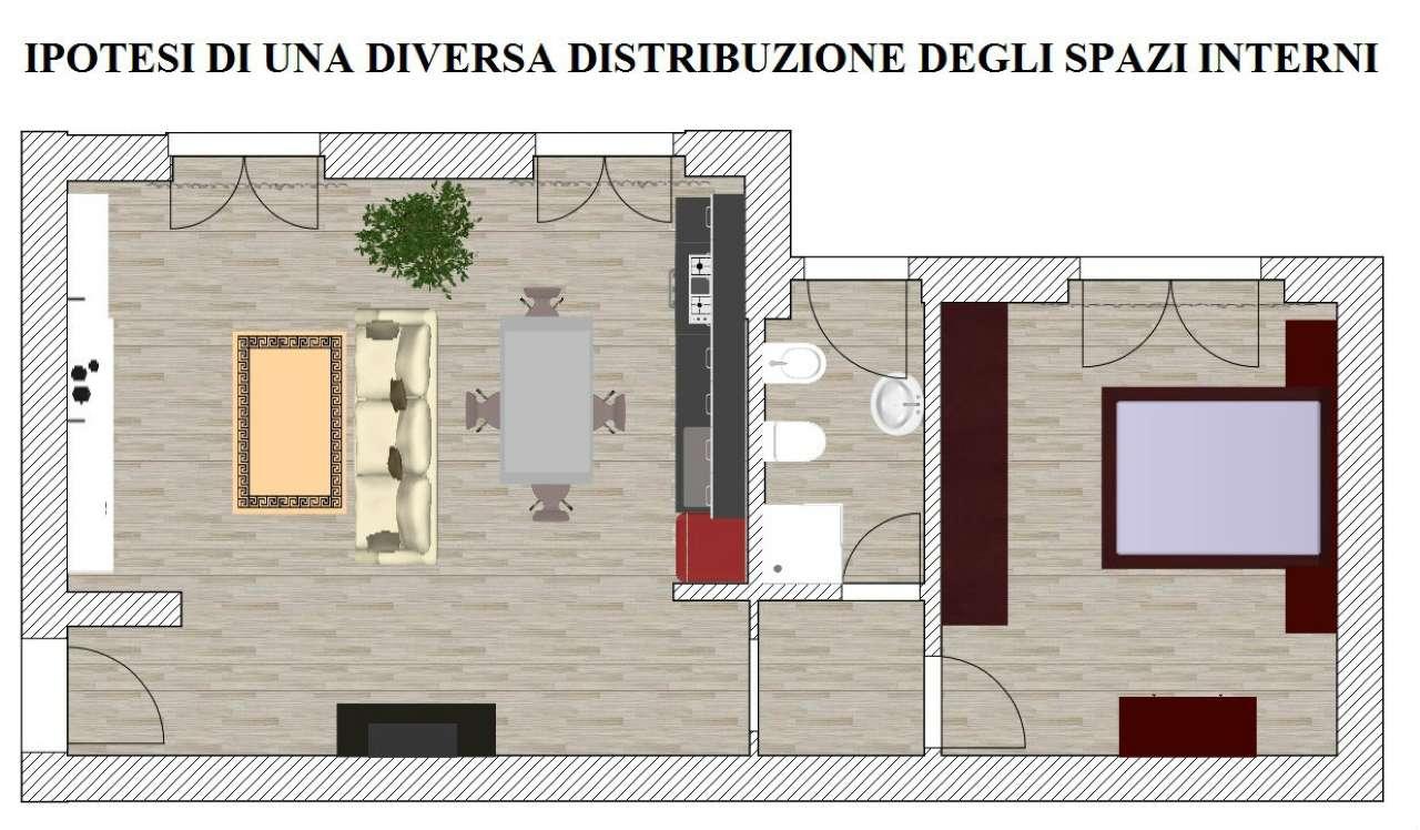 Bilocale vendita roma zona lido di ostia for Planimetrie della casa del registro del ranch