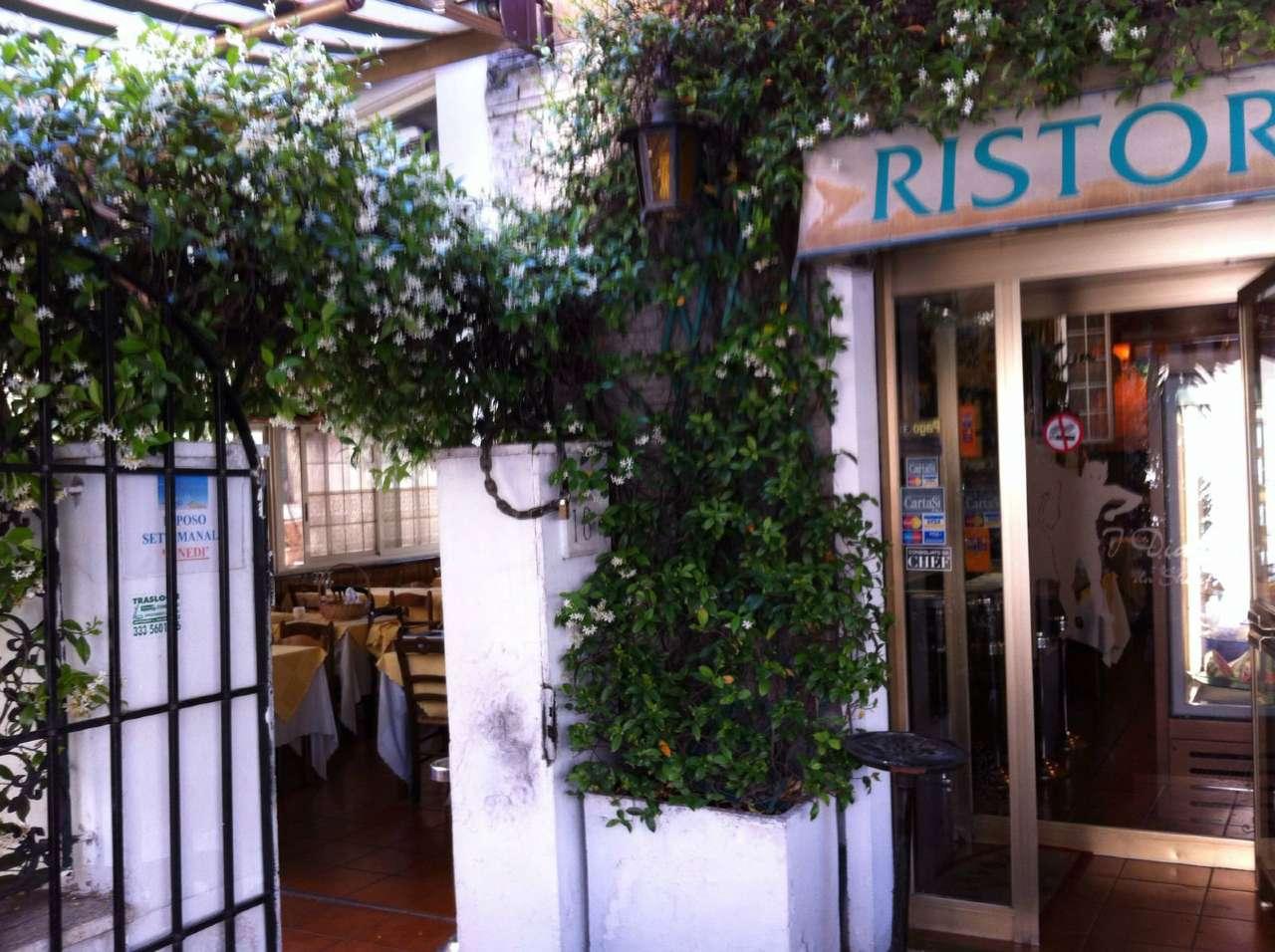 Ristorante / Pizzeria / Trattoria in Vendita a Roma