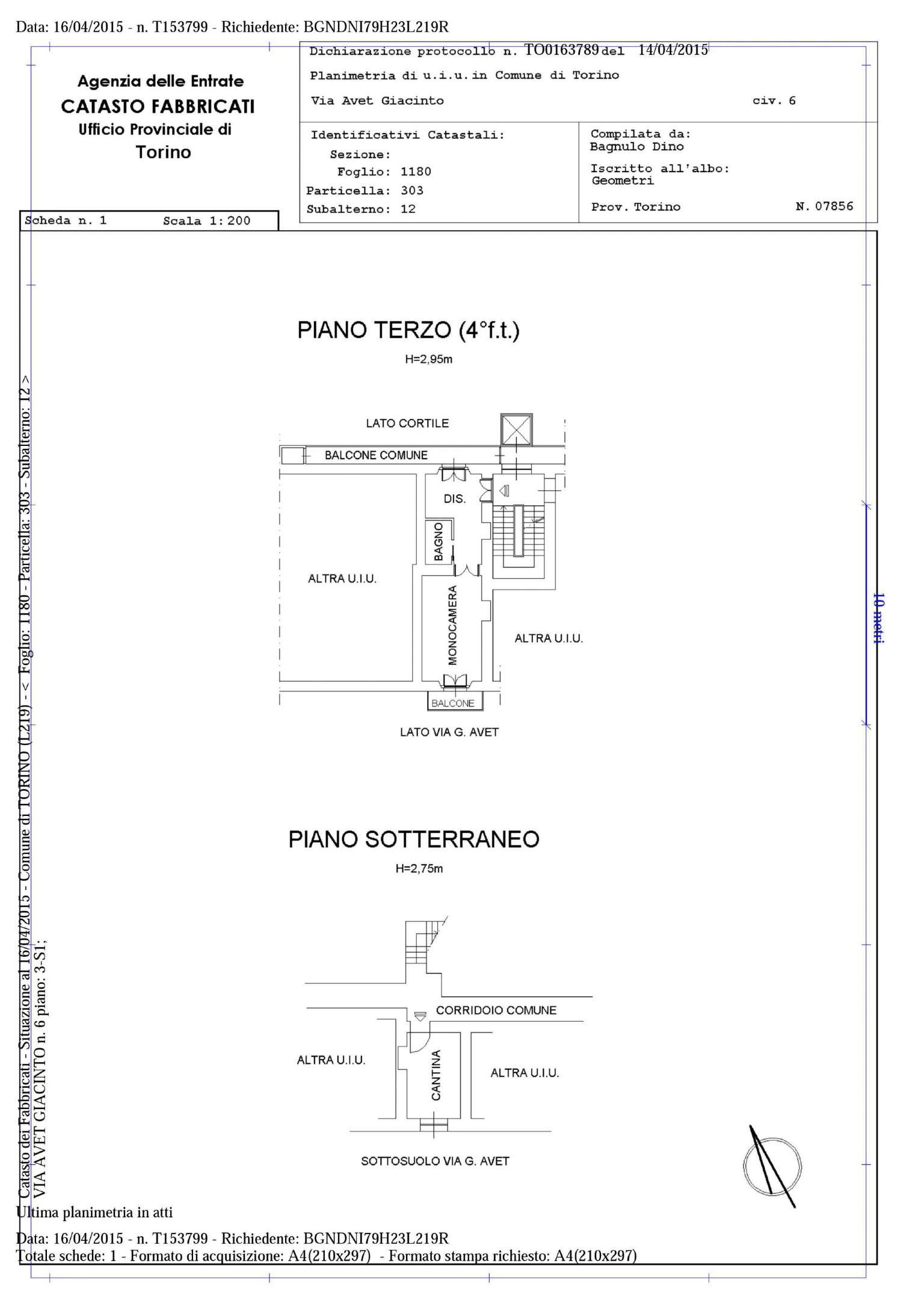 Vendita  bilocale Torino Piazza Statuto 1 1073271