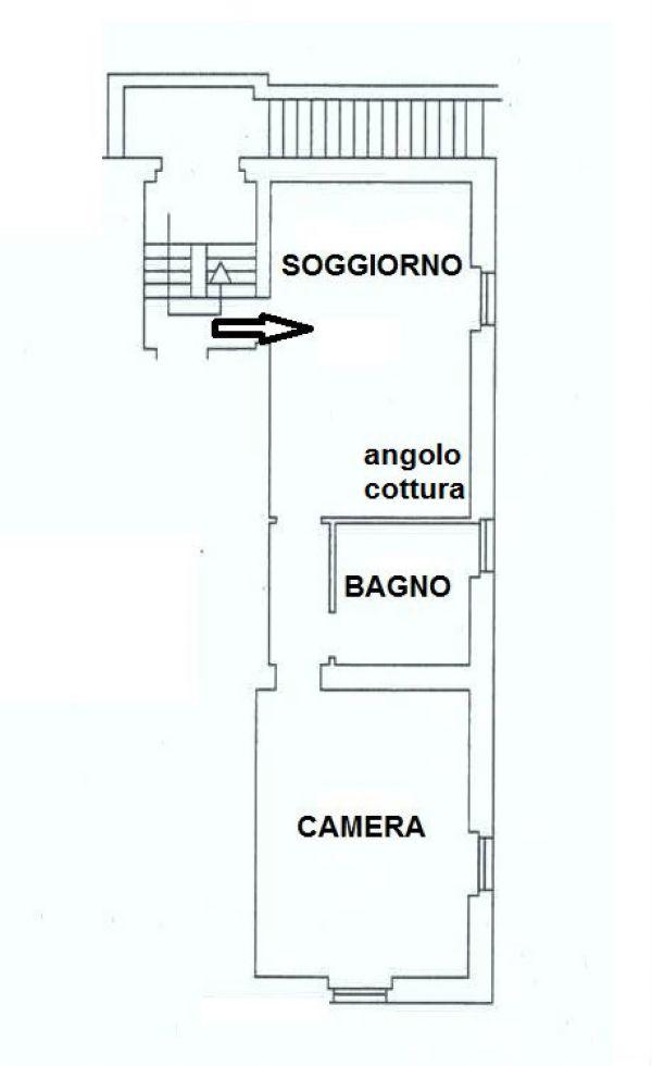 Vendita  bilocale Genova Via Monte Corno 1 882108