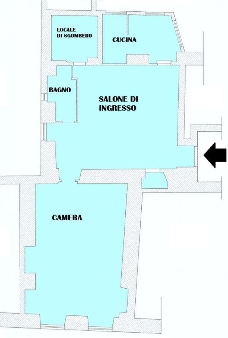 Bilocale Genova Piazza S. Giorgio 10