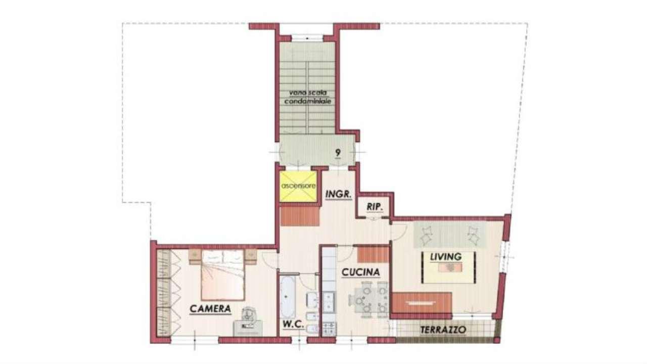 Affitto  bilocale Chiavari Corso Valparaiso 1 956044