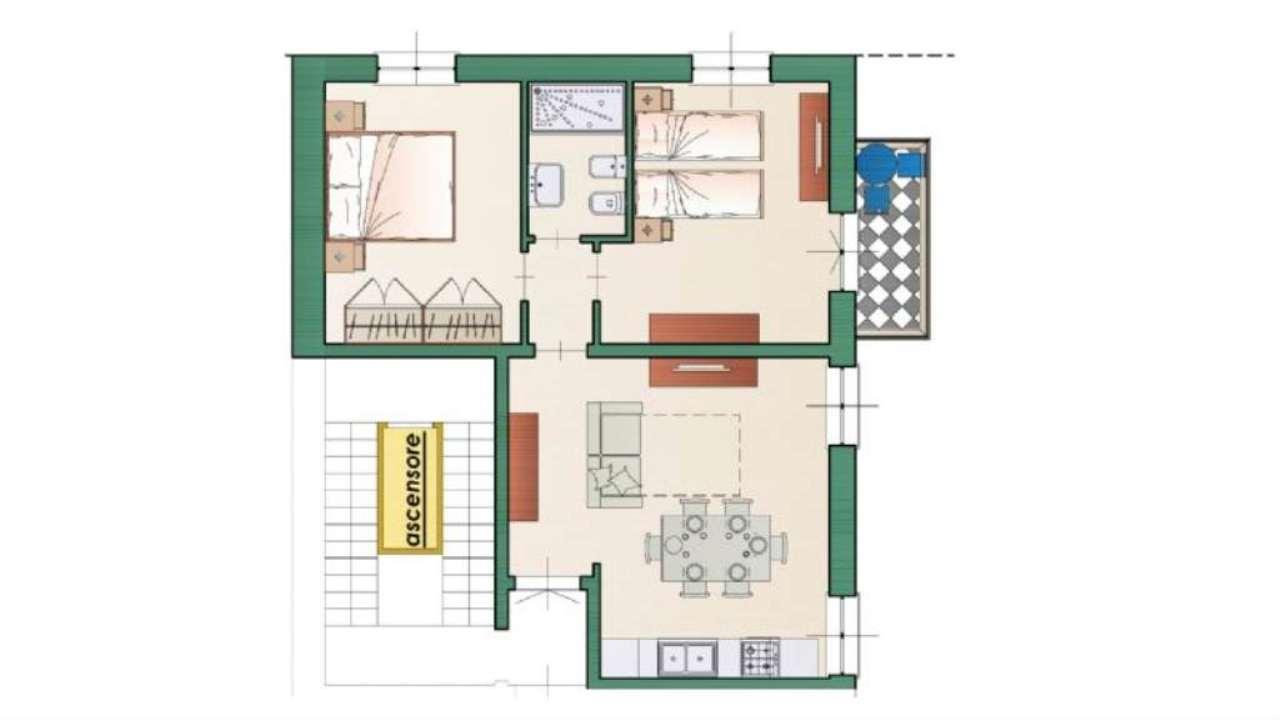 Appartamento in affitto a Chiavari, 4 locali, prezzo € 1.000 | Cambio Casa.it