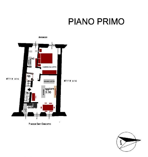 Affitto  bilocale Chiavari Piazza Piazza San Giacomo 1 957253