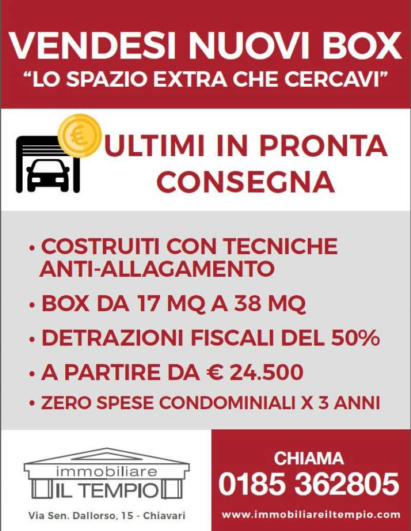 Box / Garage in vendita a Chiavari, 9999 locali, prezzo € 24.500   Cambio Casa.it