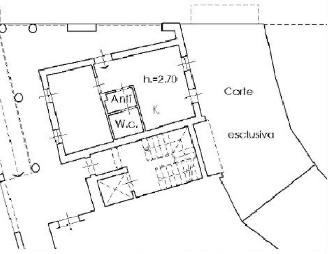 Vendita  bilocale Villanuova sul Clisi Piazza Roma 1 923470