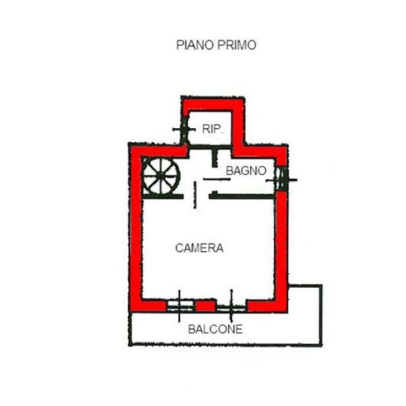 Vendita  bilocale Rubiana Borgata Carello Inferiore 1 1067384