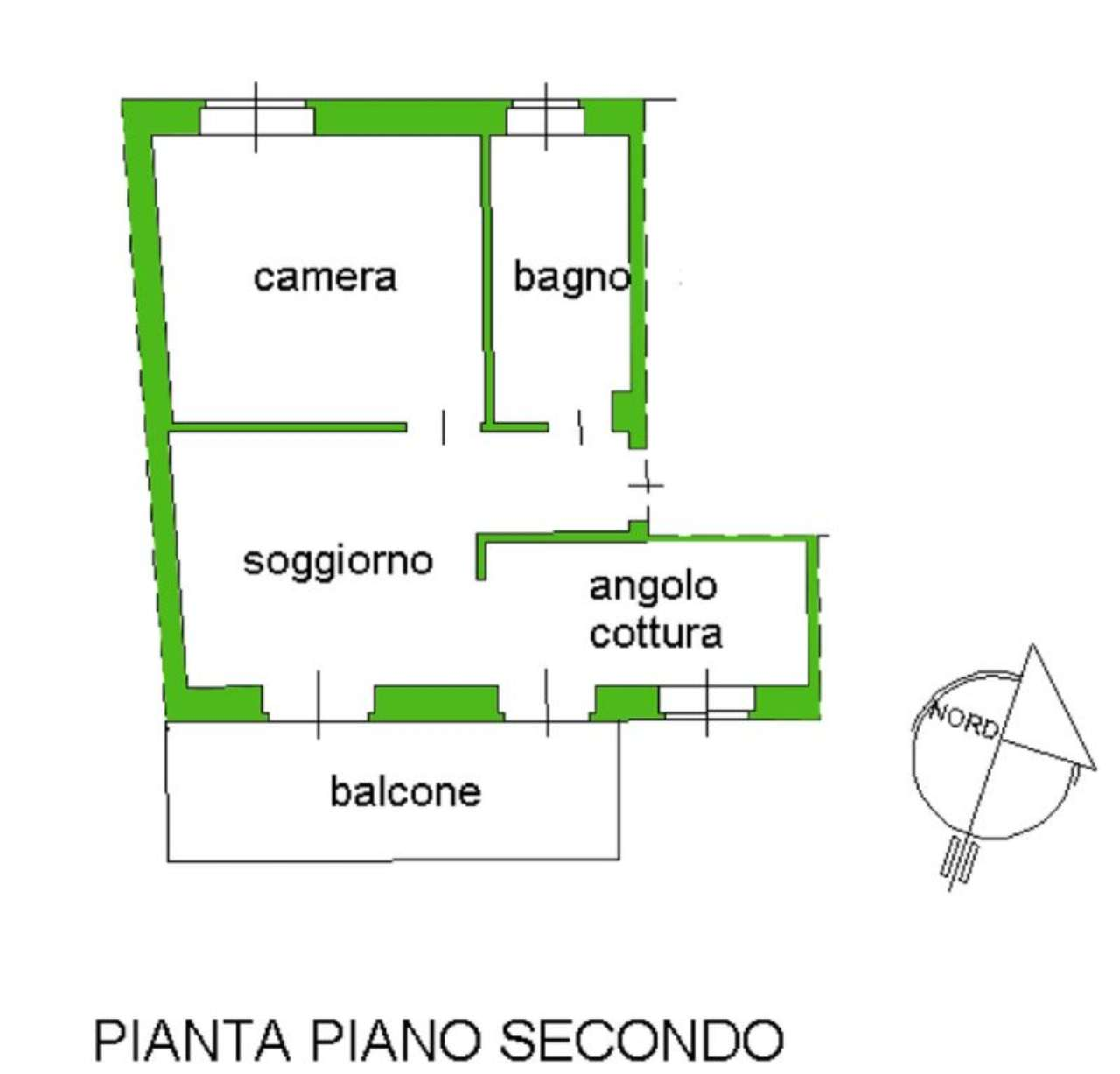Bilocale Giaveno Via Villa 10