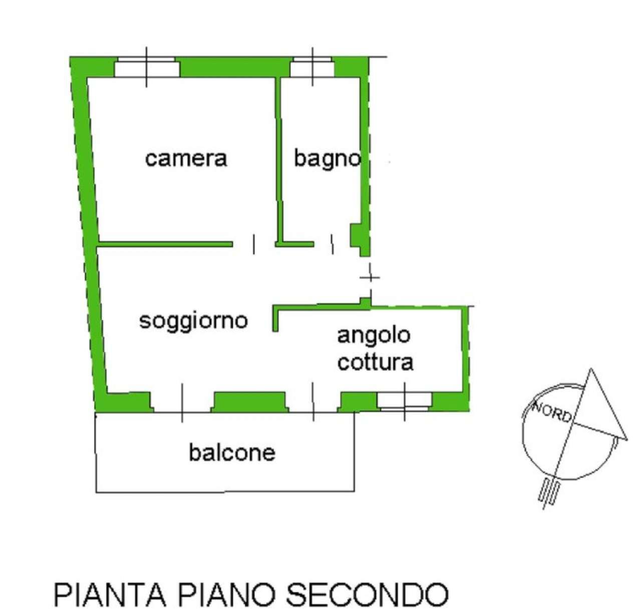 Vendita  bilocale Giaveno Via Villa 1 1085312