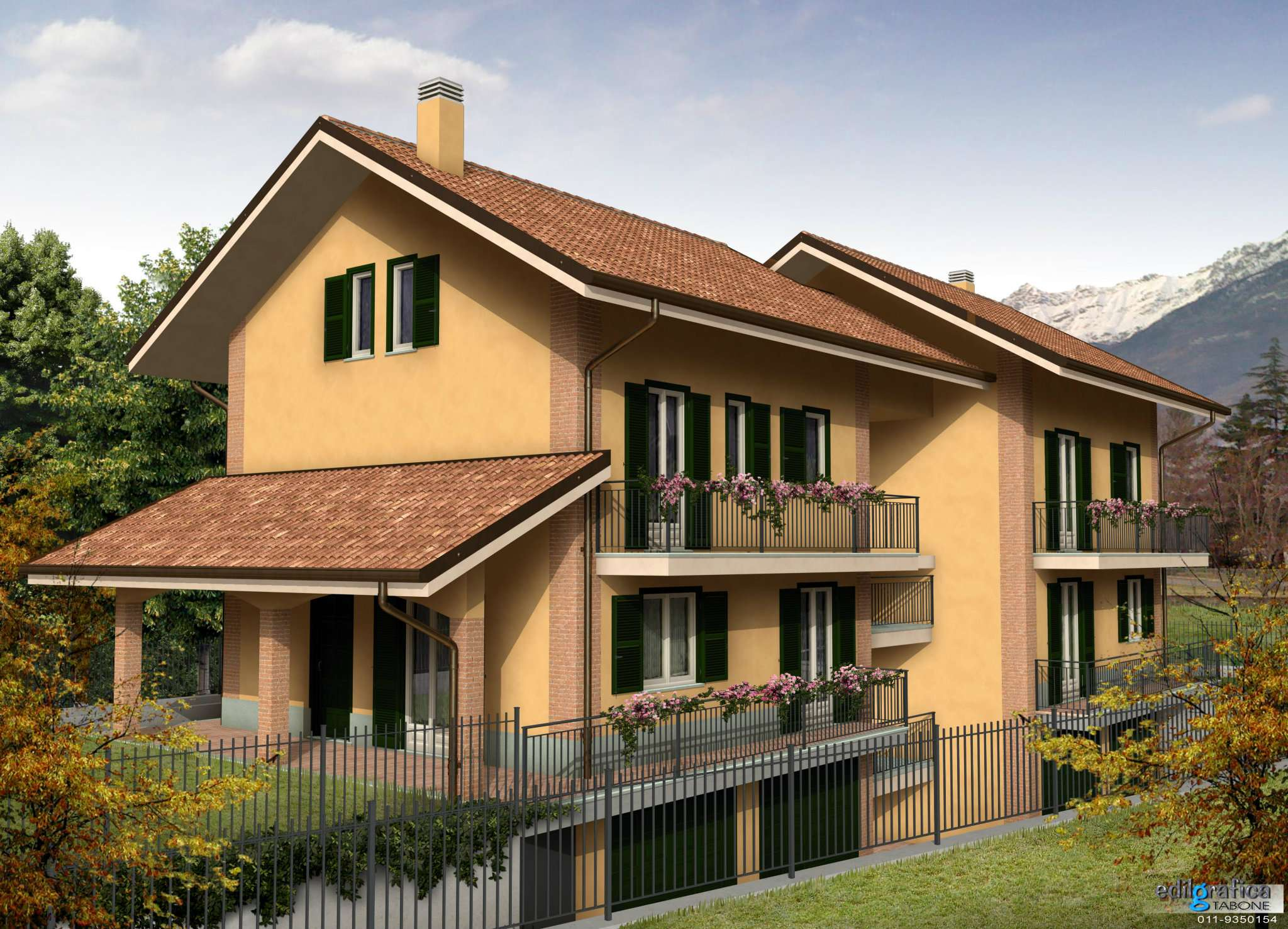 Appartamento in Vendita a Villar Focchiardo Centro: 3 locali, 72 mq