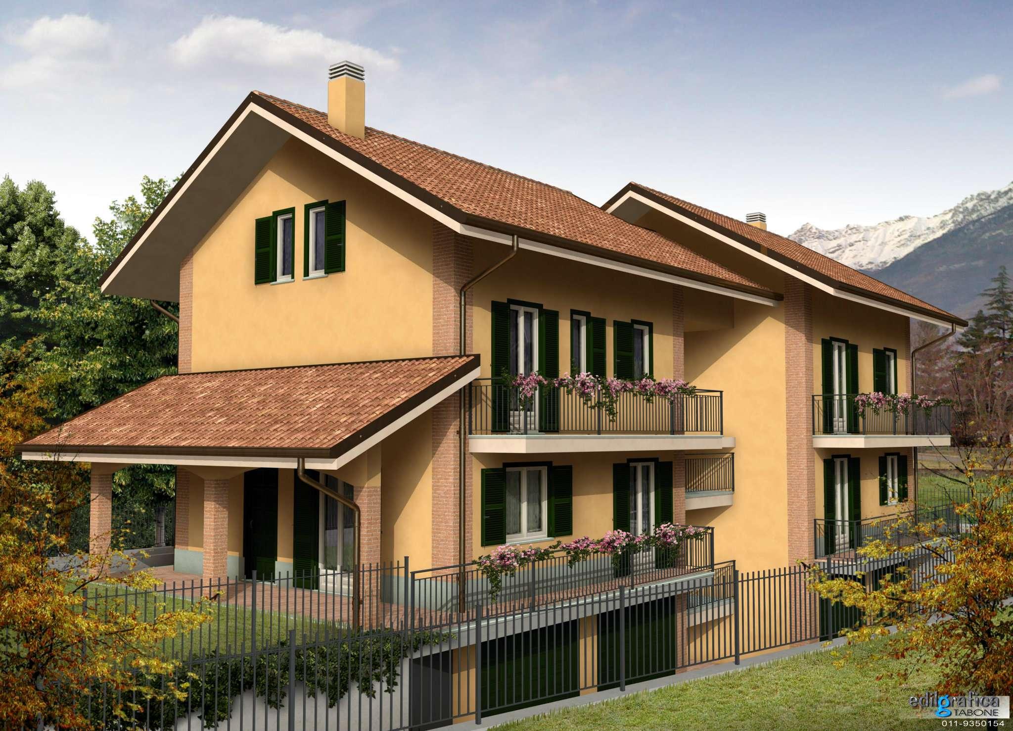 Appartamento in Vendita a Villar Focchiardo Centro: 4 locali, 97 mq
