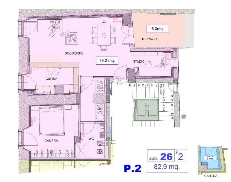 Affitto  bilocale Cividale del Friuli Via Patriarcato 1 845193