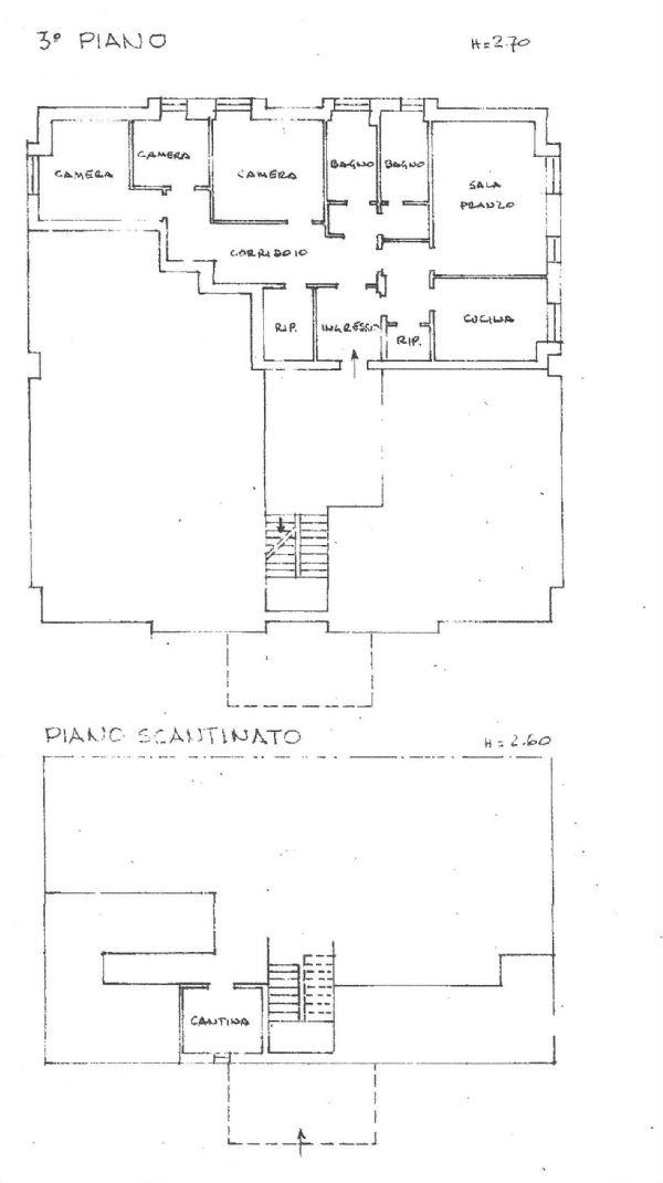 Appartamento in vendita a Pontebba, 5 locali, Trattative riservate | Cambio Casa.it