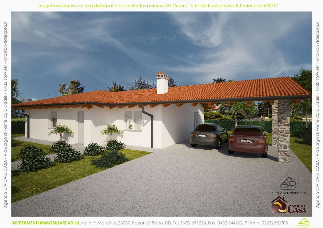 Villa in vendita a Cividale del Friuli, 5 locali, prezzo € 260.000 | CambioCasa.it