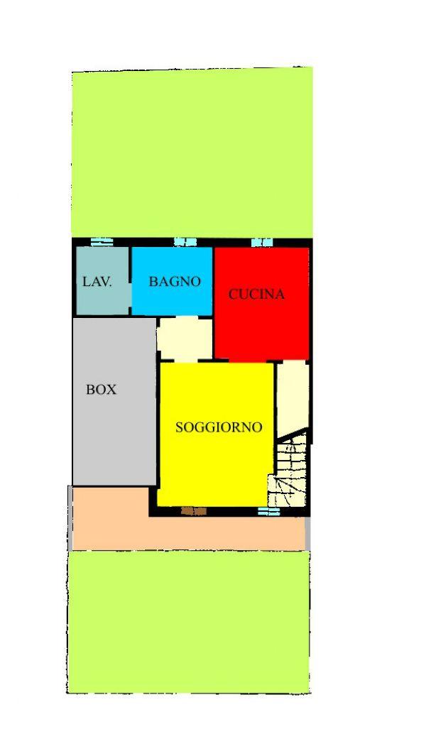 Palazzo Pignano Vendita VILLA A SCHIERA Immagine 1
