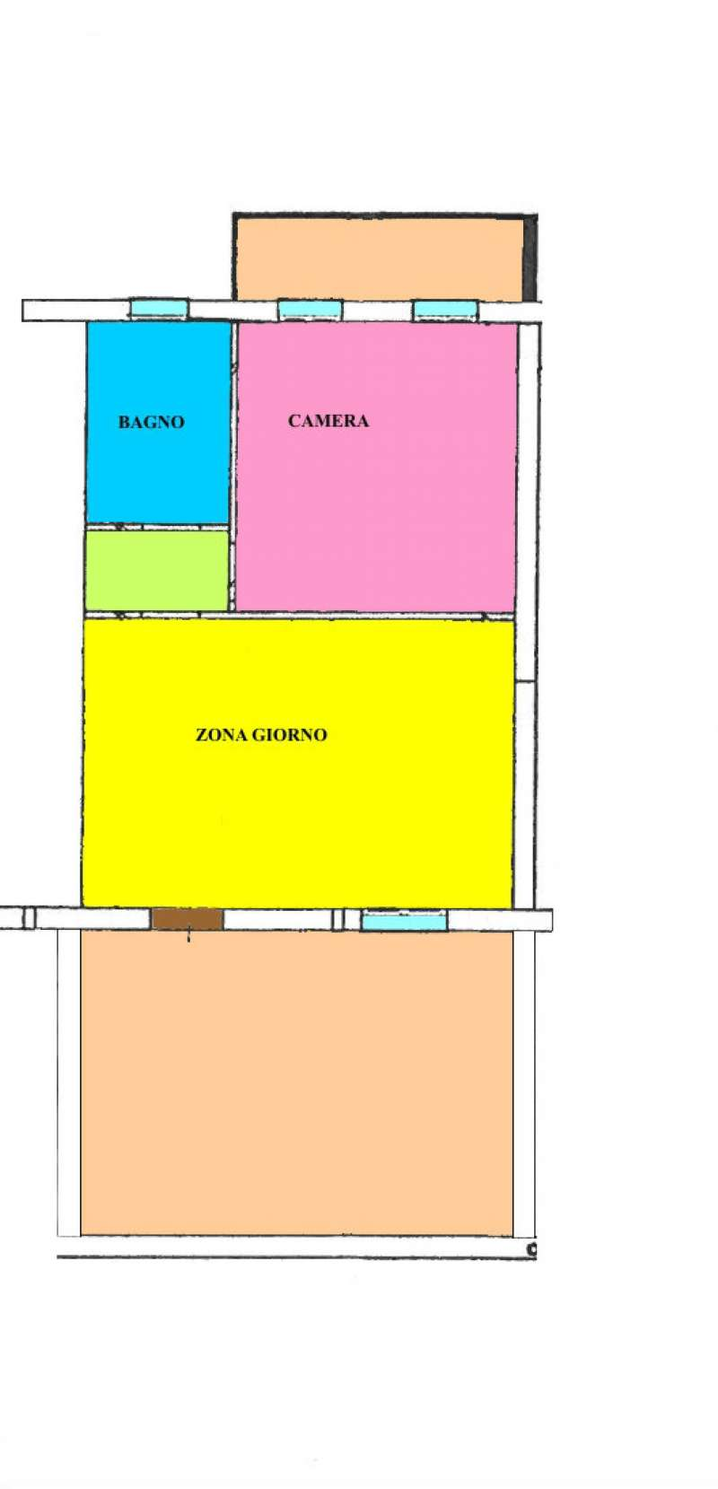 Vendita  bilocale Trescore Cremasco Via Pavese 1 1015120