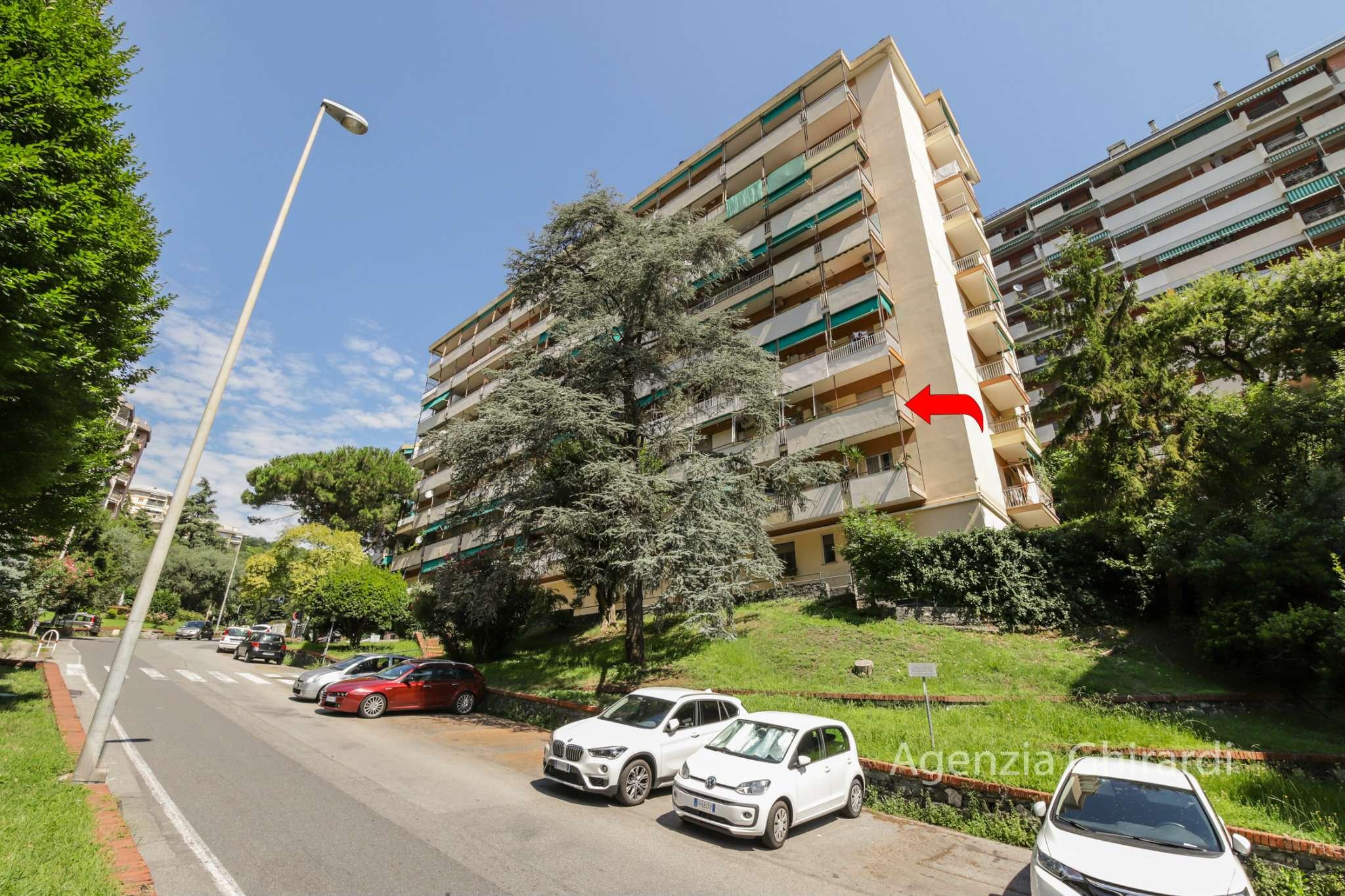 Foto 1 di Quadrilocale via Emilio Salgari 1, Genova (zona Pegli)