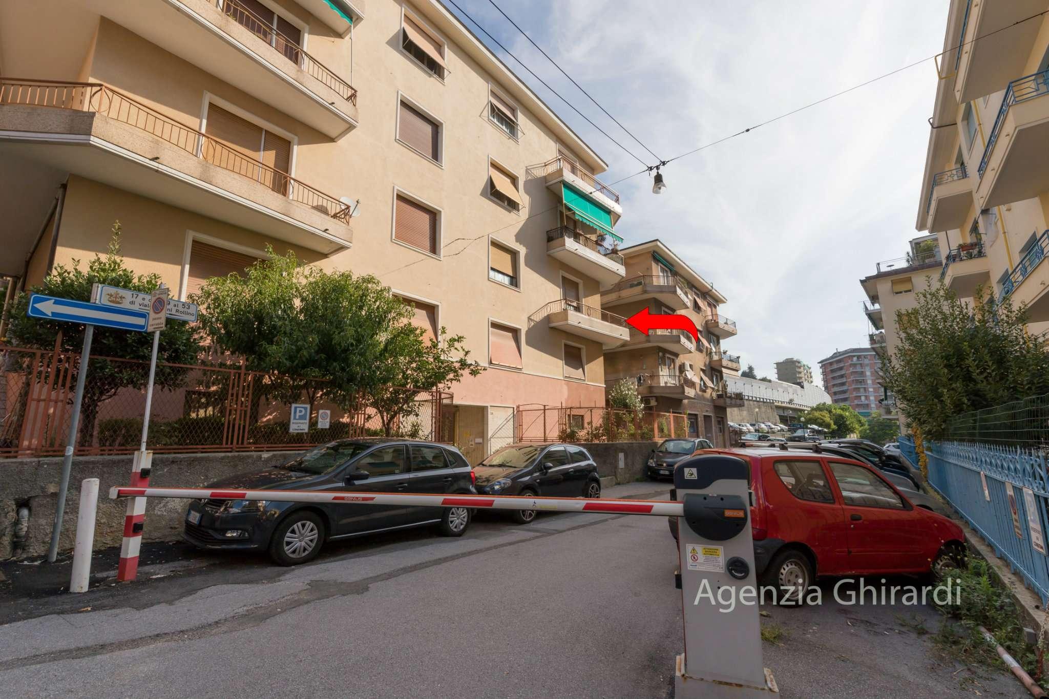 Foto 1 di Quadrilocale viale Villini Rollino 53, Genova (zona Sestri Ponente)
