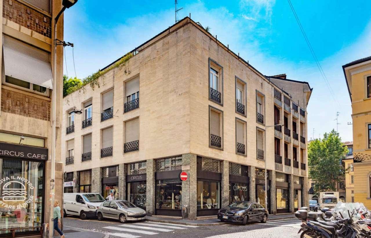 Ufficio-studio in Affitto a Milano 01 Centro storico (Cerchia dei Navigli): 3 locali, 95 mq