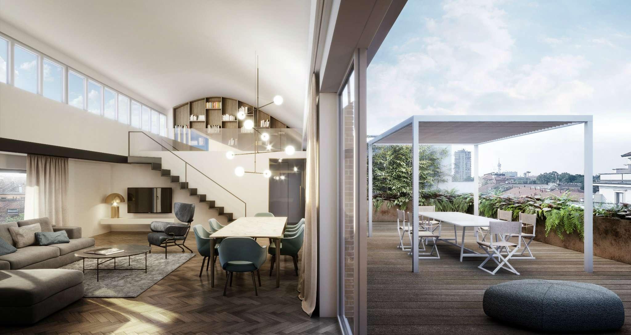 Appartamento in Vendita a Milano 08 Vercelli / Magenta / Cadorna / Washington: 4 locali, 200 mq