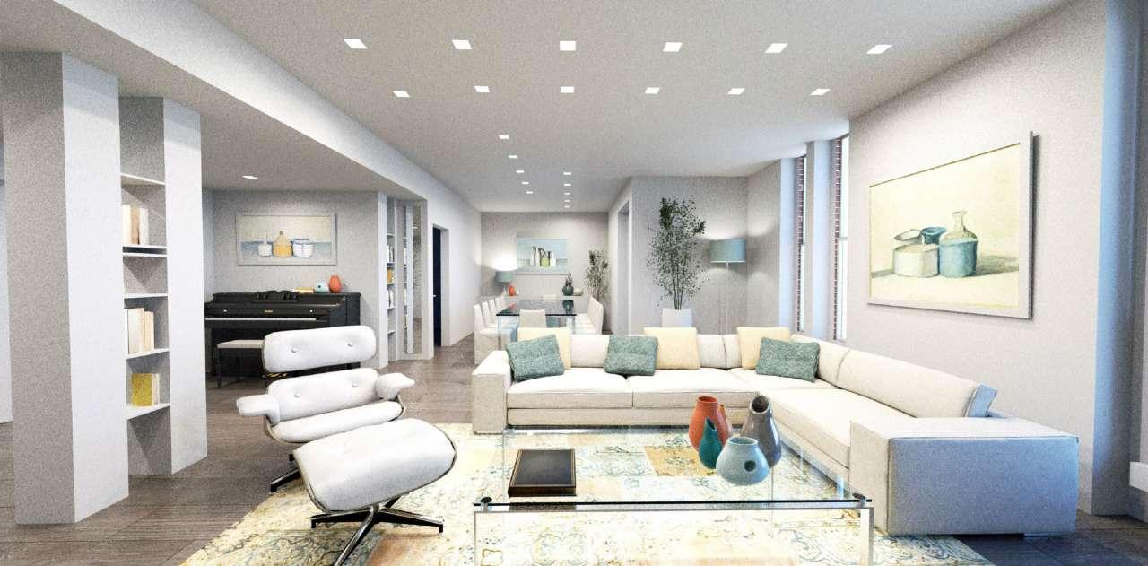 Appartamento in Vendita a Milano 01 Centro storico (Cerchia dei Navigli): 4 locali, 190 mq