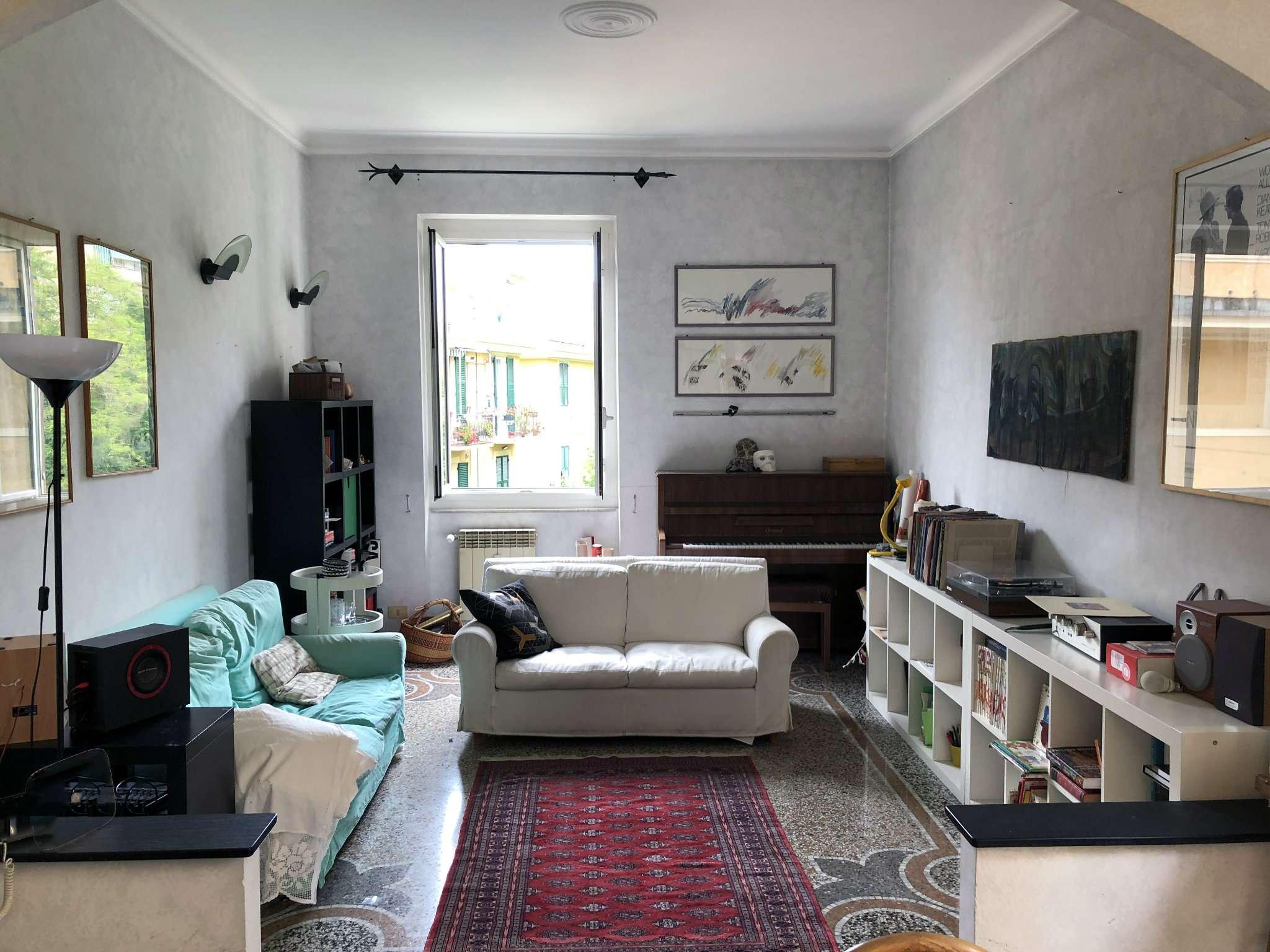Foto 1 di Appartamento corso Monte Grappa 16, Genova (zona Circonvalmonte)
