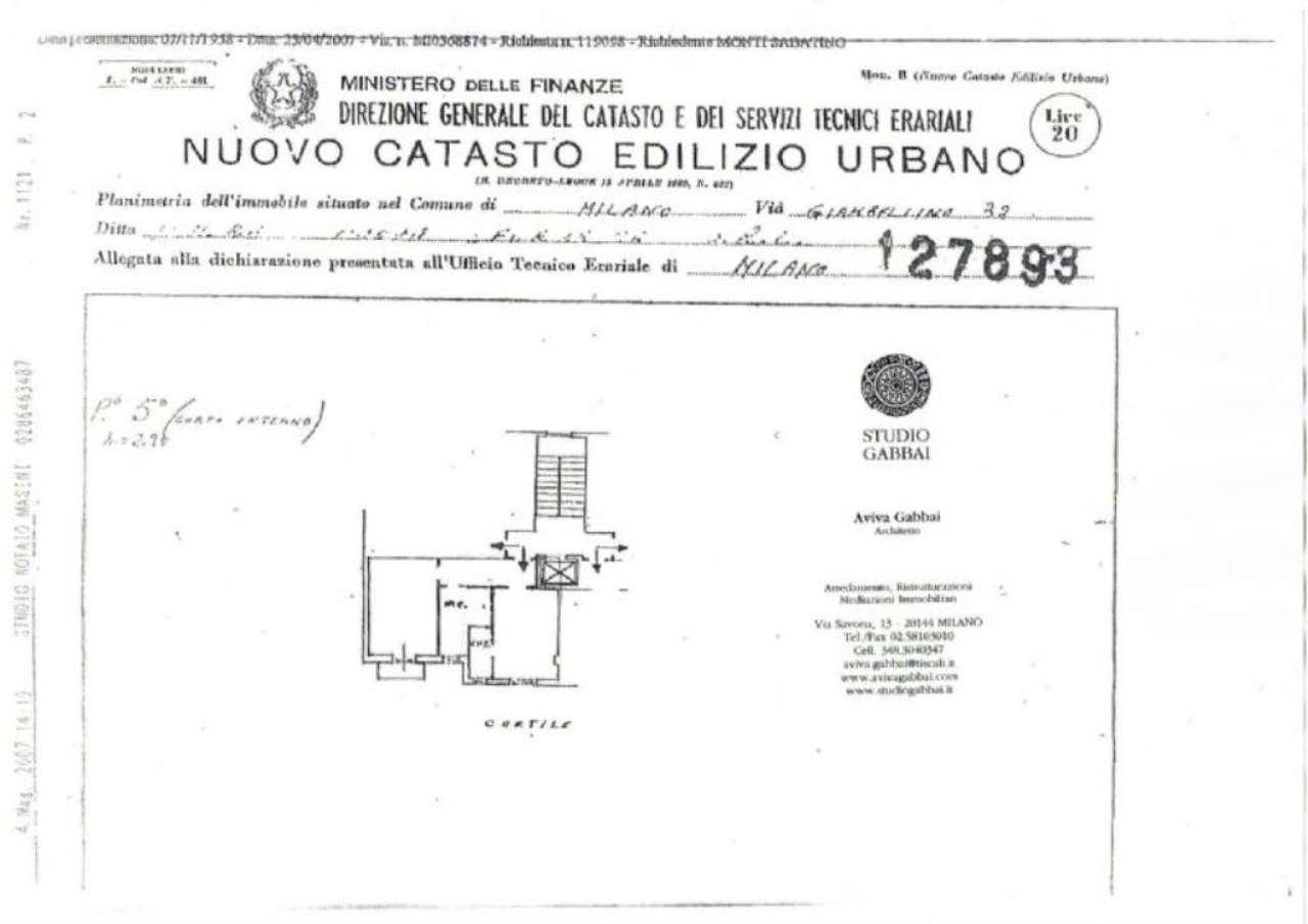 Vendita  bilocale Milano Via Giambellino 1 1079280