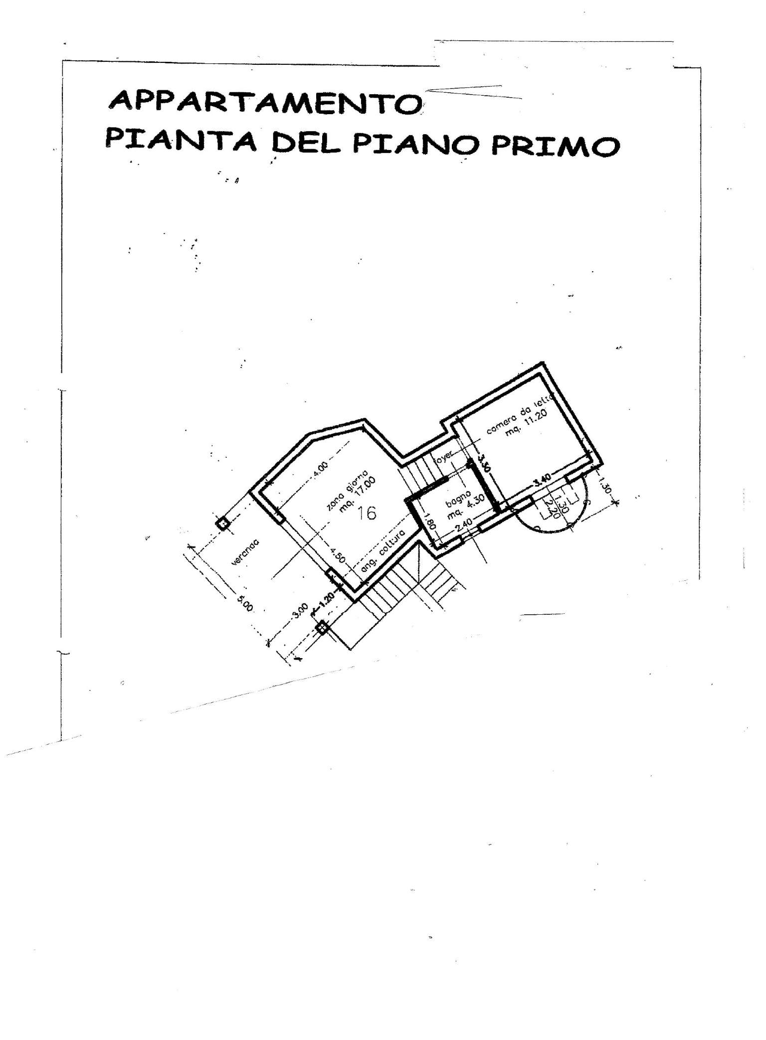 Vendita  bilocale Tempio Pausania Via Della Fonte 1 932953