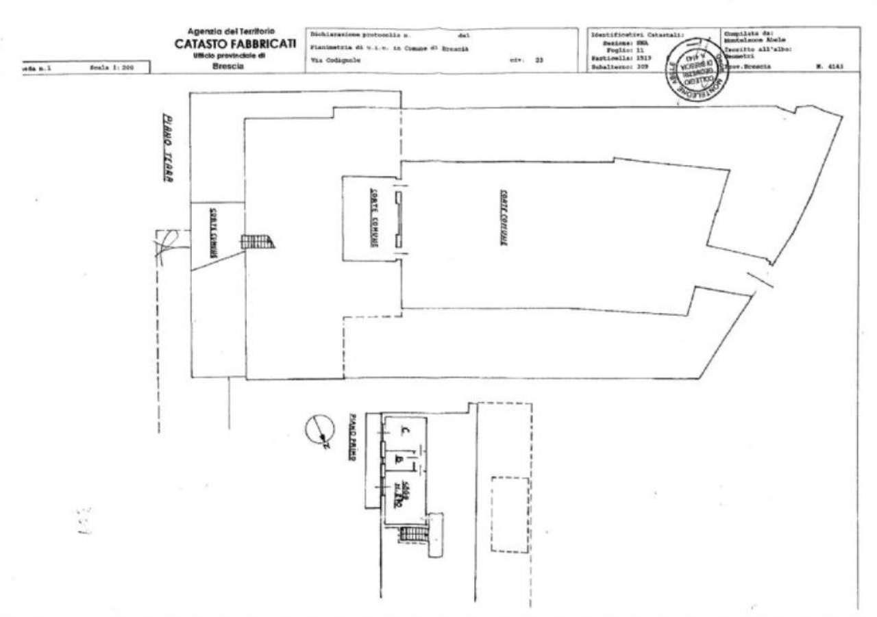 Vendita  bilocale Brescia Via Codignole 1 695407