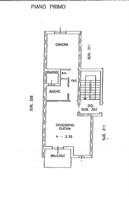Vendita  bilocale San Benedetto Po Via Paganini Nicolò 1 918396