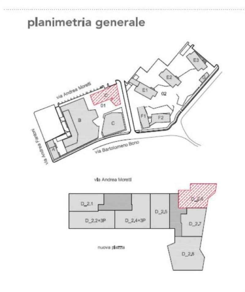 Vendita  bilocale Bergamo Via Moretti 1 998806