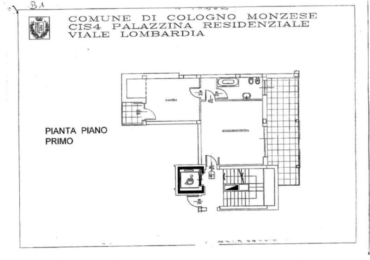 Vendita  bilocale Cologno Monzese Viale Lombardia 1 1002358